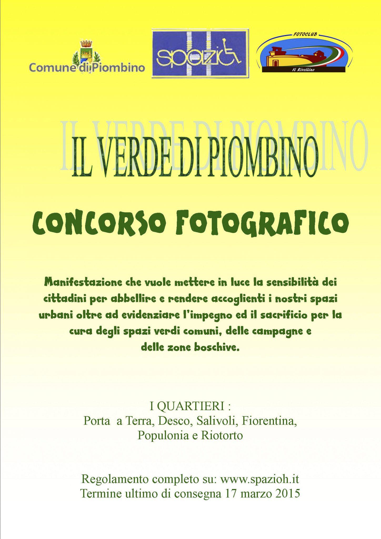 Locandina del concorso fotografico