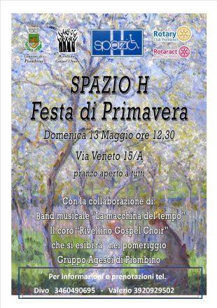 festa di primavera 2018 Spazioh